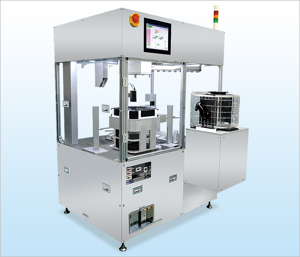 SSY-20010 (Automatic wafer transfer system for wafer container)